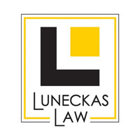 Luneckas Law, P.C. Logo - top representation workers comp / personal injury